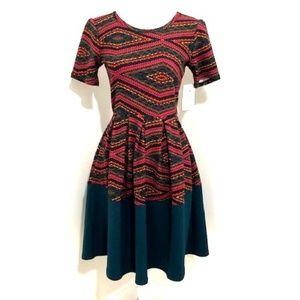 LuLaRoe Amelia Dress w/ Hidden Pockets